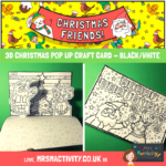 3D Christmas Pop Up Craft Card