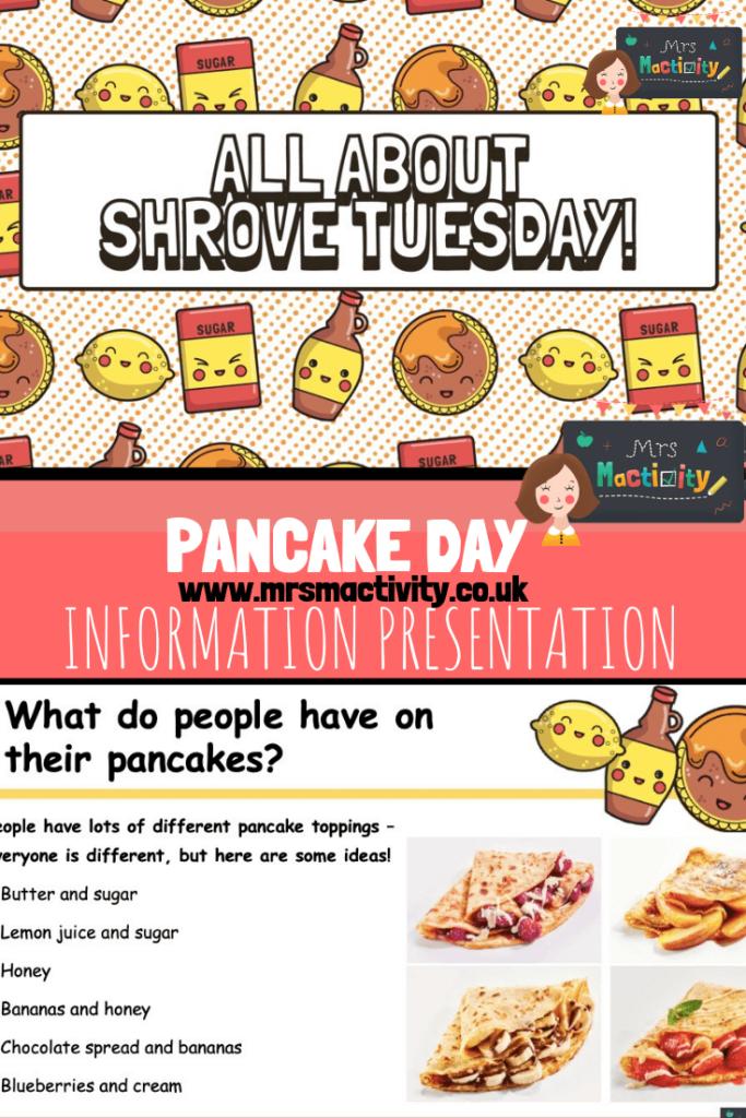pancake day information powerpoint