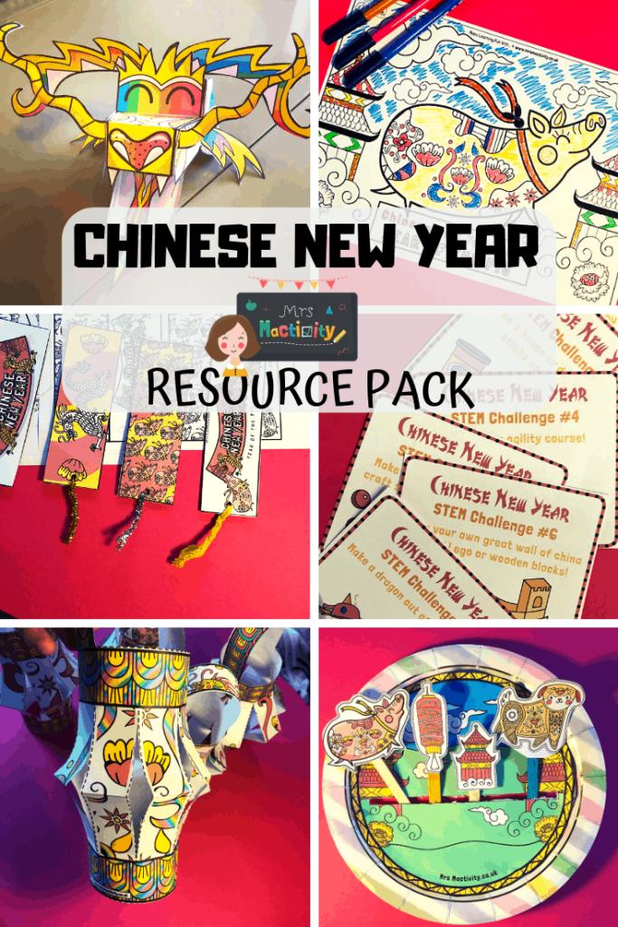 Chinese new year resource pack