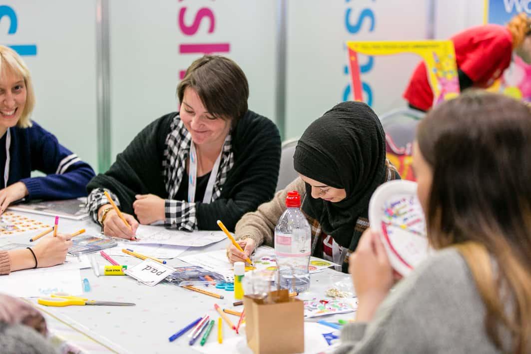 childcare expo London Mrs Mactivity workshops