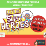 20 ways for kids to save the world assembly ppt