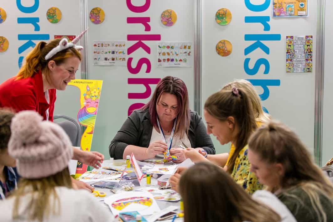 Mrs Mactivity workshop childcare expo