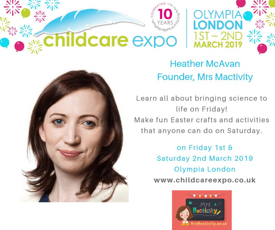 Mrs Mactivity childcare expo