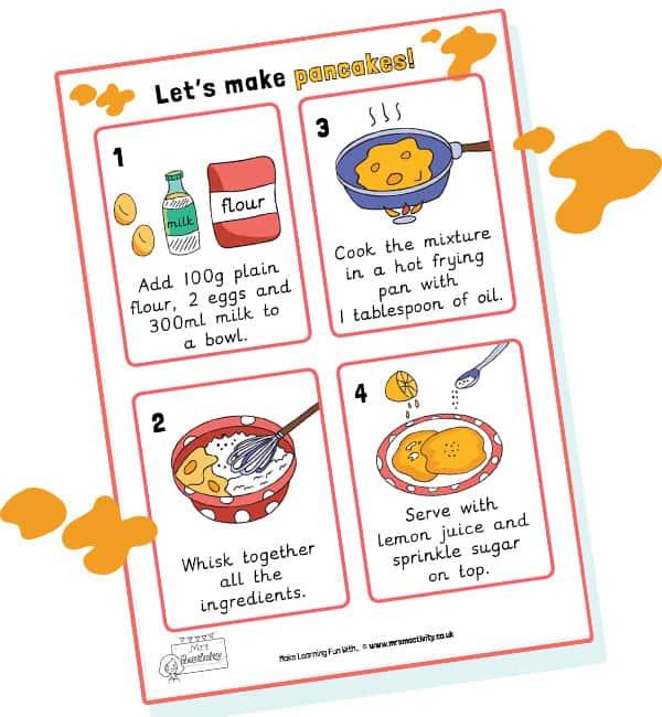 pancake day resources ks1