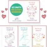 valentines day craft card