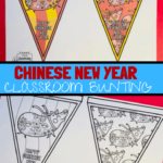 Chinese new year classroom bunting