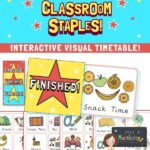 Editable and Interactive Visual Timetable