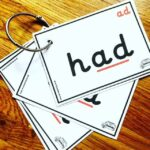 CVC Word family cards for ring binder