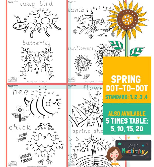 Spring Dot to Dot and Word Trace