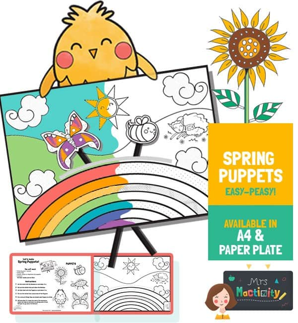 Spring Puppets Activity