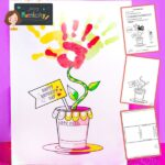 Mother's Day Hand Print Card