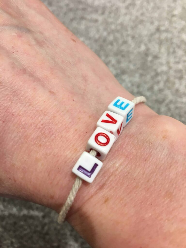 Valentine's Craft Bracelet