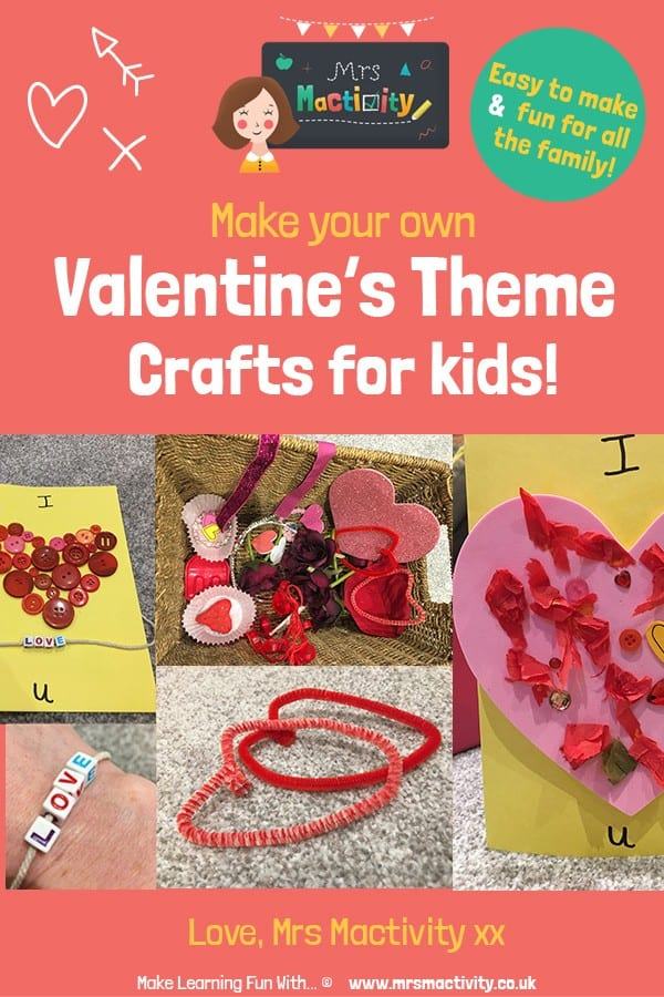 4 VERY Easy Valentine's Day Crafts and Card Ideas