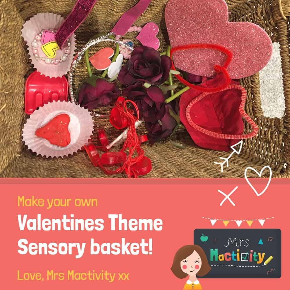 Valentine's Day Treasure Basket