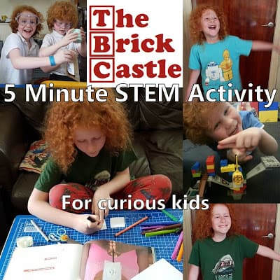 5 Minute STEM Activity For Curious Kids