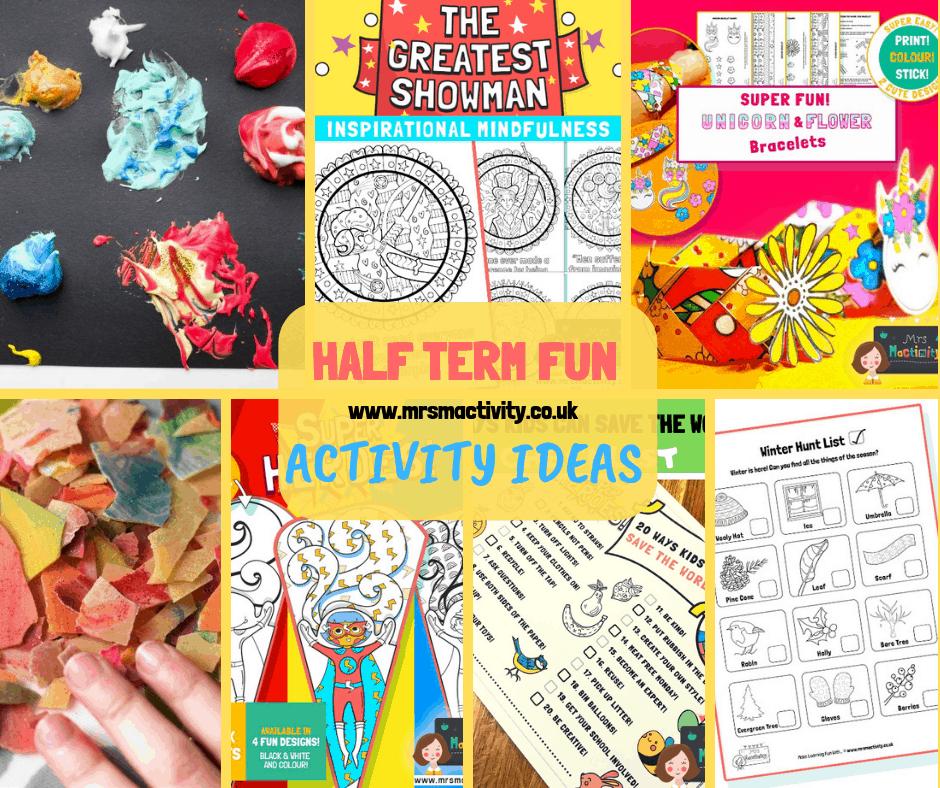 Half Term Activity Ideas for Kids