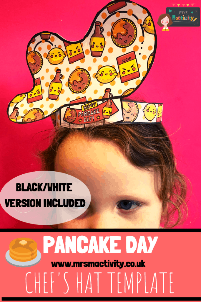 Pancake Day Chef's Hat