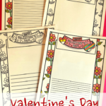 Valentine's Day Writing Frames