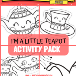 I'm a Little Teapot Activity Resource Pack