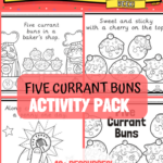 5 Currant Buns Activity Resource Pack