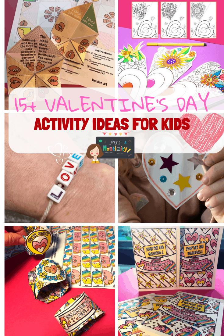 Valentine's Day Activity Ideas for Kids