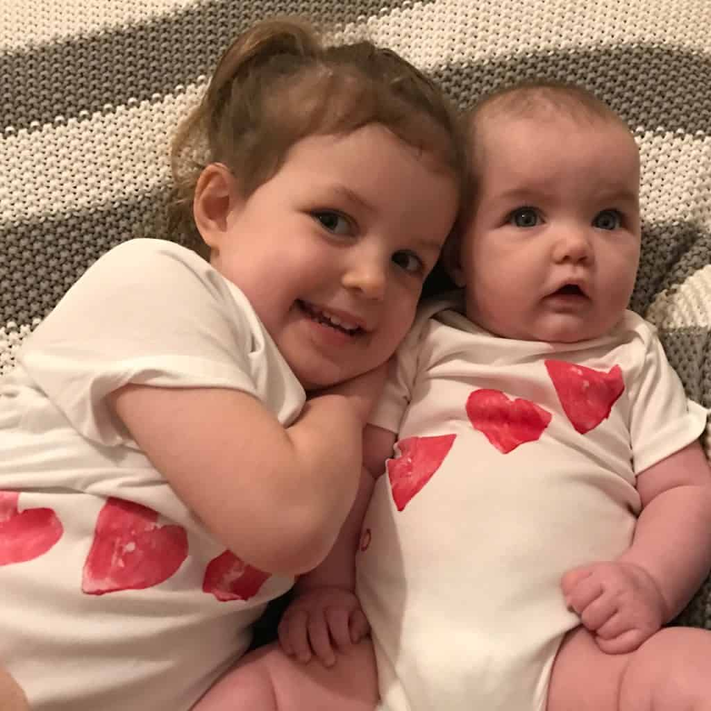 Make your own Valentine's heart t shirt