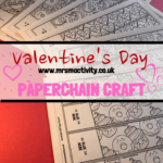 Valentine's Day Paper Chain Craft