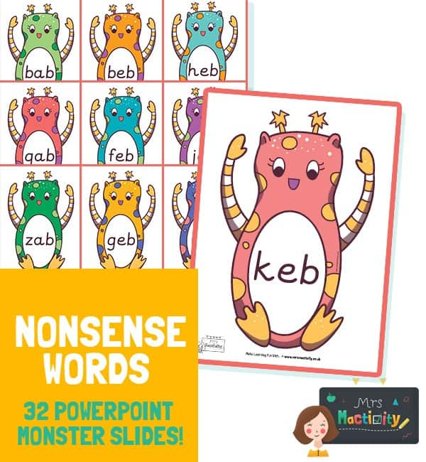 Phonics Screening Check Alien Word PowerPoint