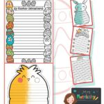 Easter Writing Frames