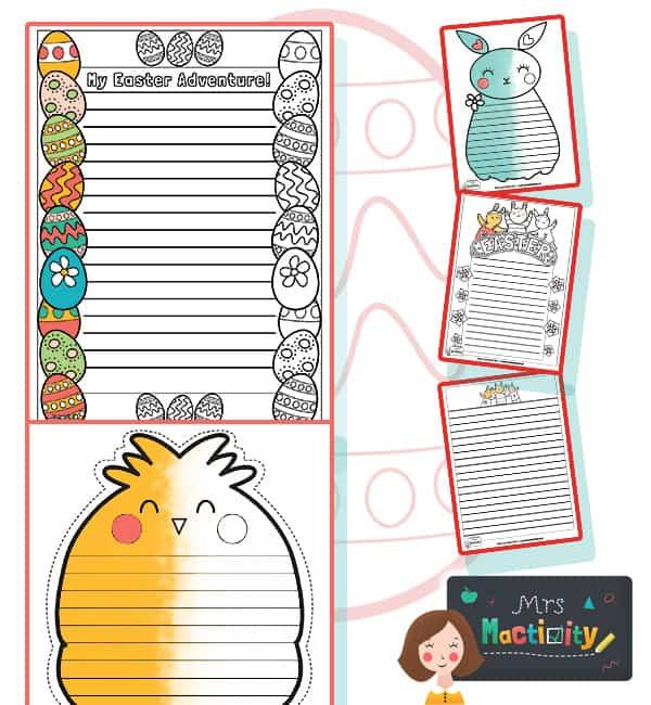 Easter Writing Frames