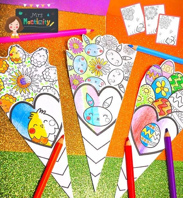 Easter Paper Bouquet