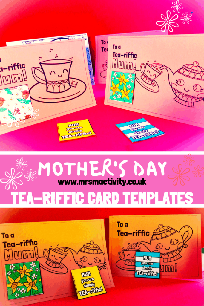 Mother's Day TEA-riffic card