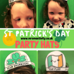 St Patrick's Day party hats