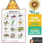 Spring Hunt Checklist