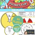 CVC word family phonics activity