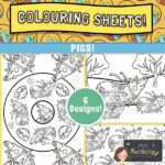 Piglet Colouring Pages