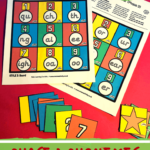 Phonics Phase 3 Phonemes Board Games