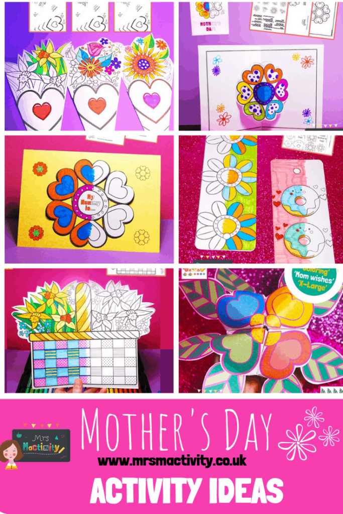 Mother's Day activity ideas