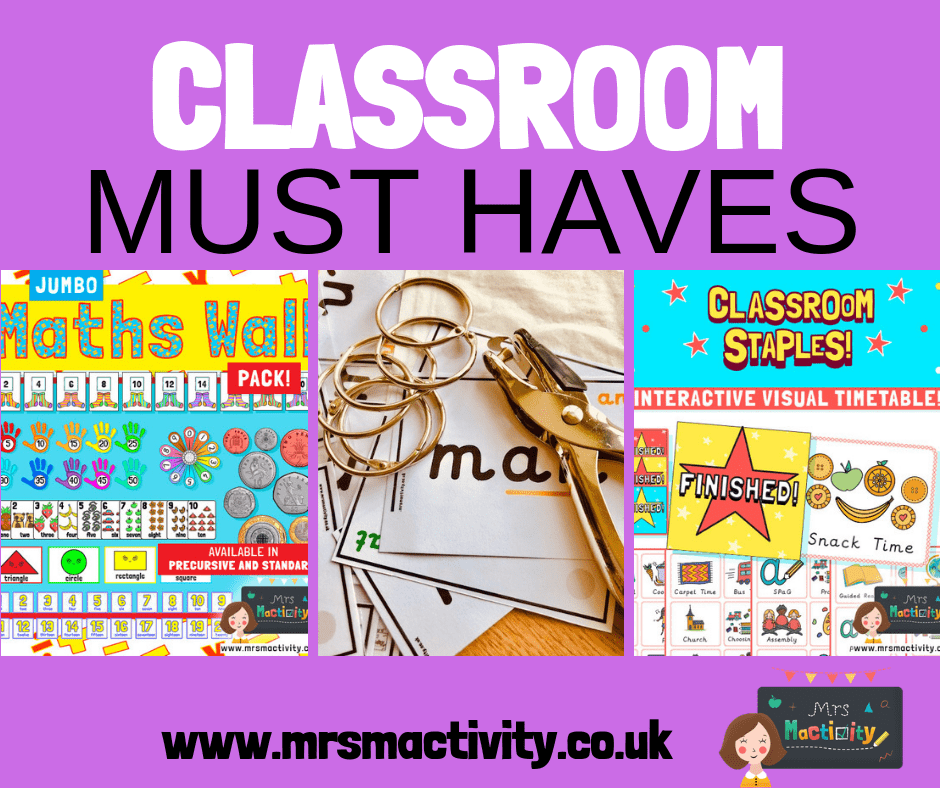 Classroom must haves