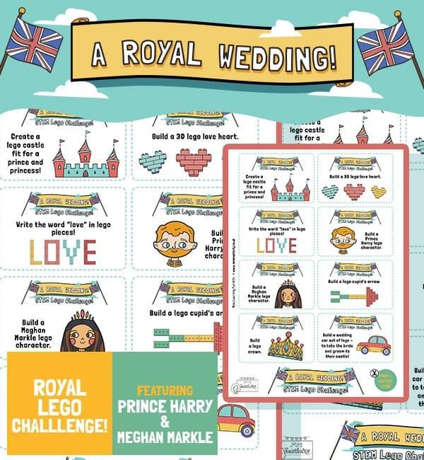 Royal Wedding 2018 Lego STEM Challenge,