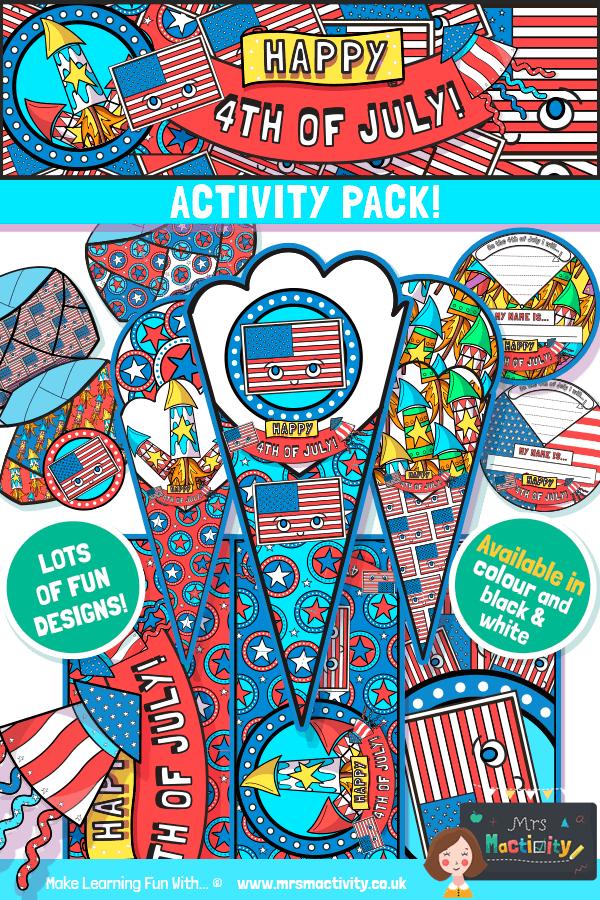 4th July craft bundle pack