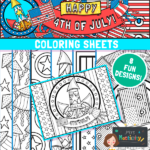 4th July coloring pages