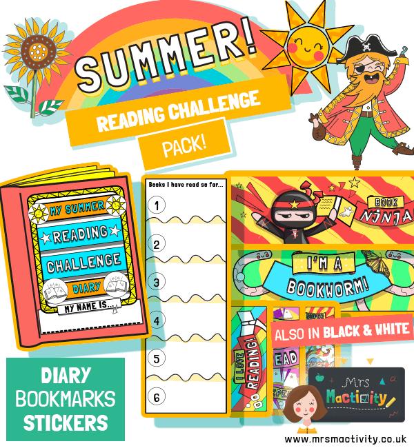 Summer reading challenge pack