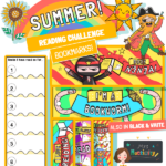 Summer reading challenge bookmarks