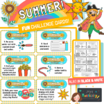 Summer Learning Challenge Cards