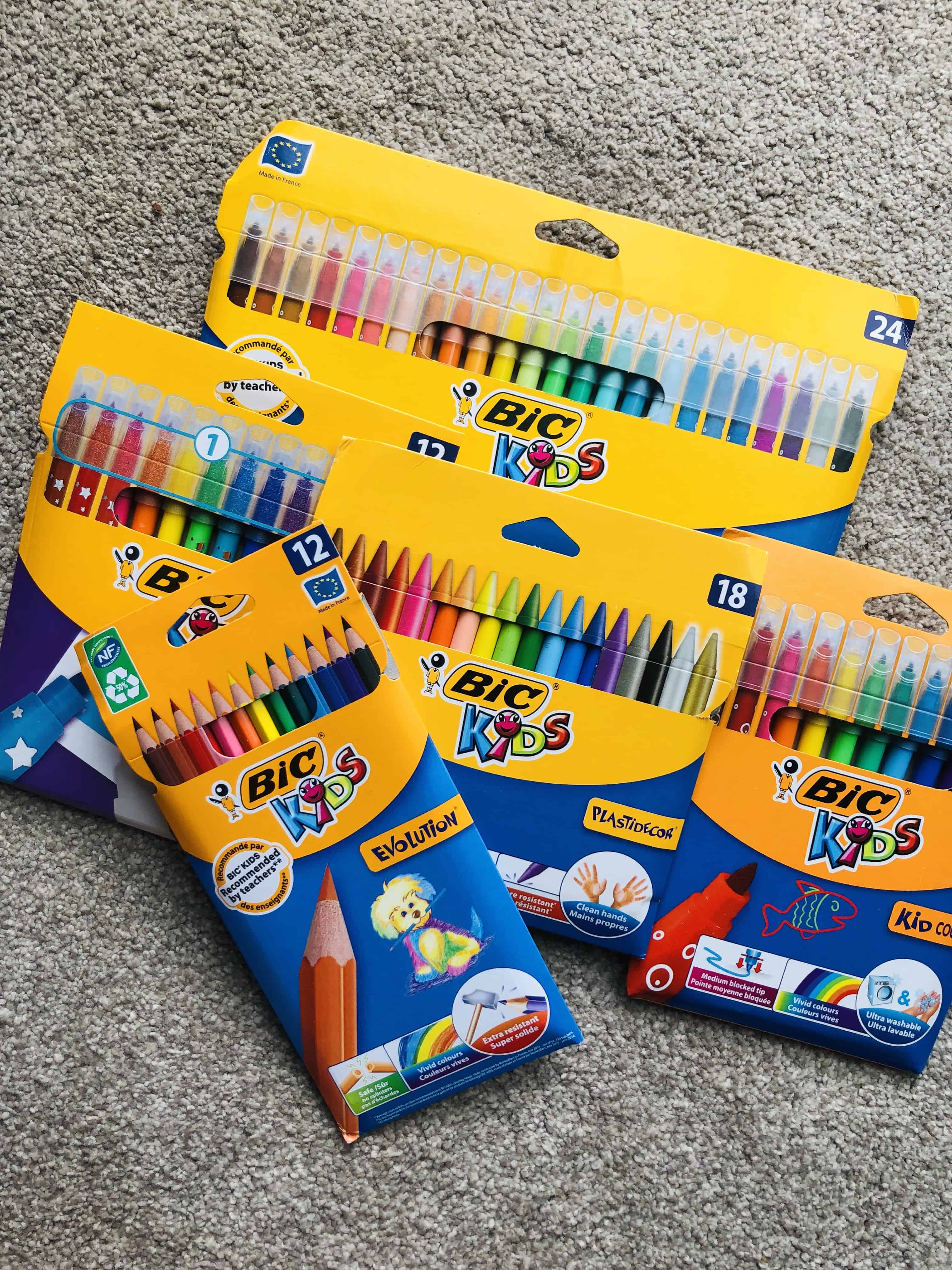 Bic kids young artist