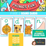 Phase 2 Phonics Sound Cards