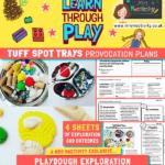 website preview learn through play tuff spot LONG playdough