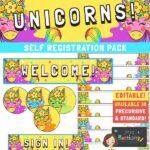Unicorns Self Registration Resources