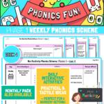 Phonics Scheme - Phase 1 Week 4